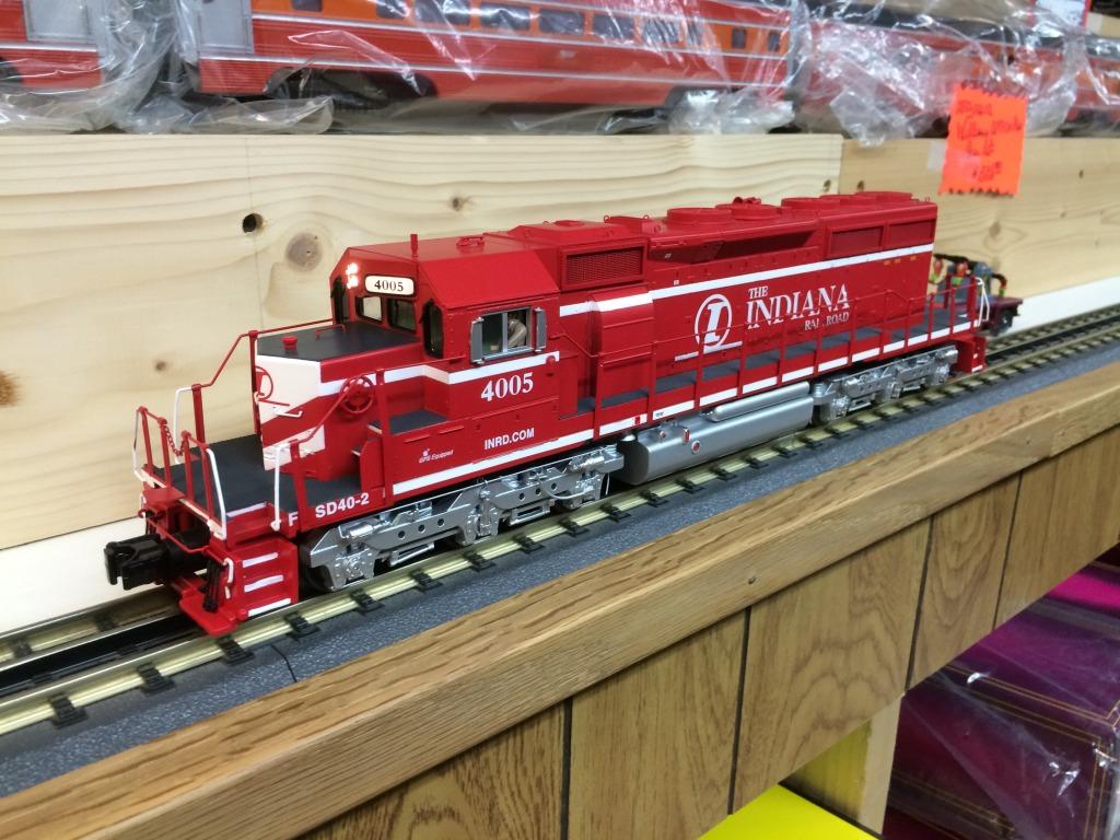 MTH Premier Indiana Railroad SD40-2