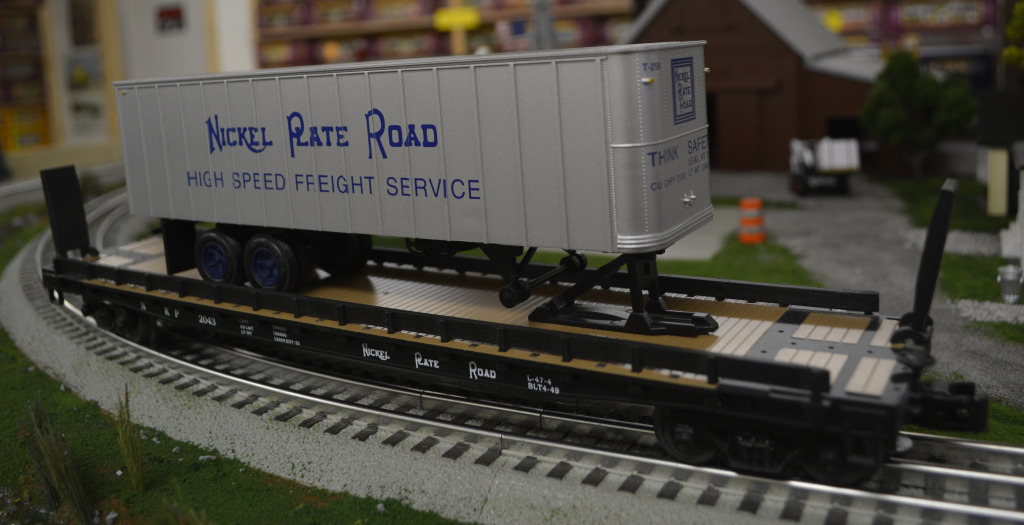 Silver NKP TOFC Still available in 3 road numbers!