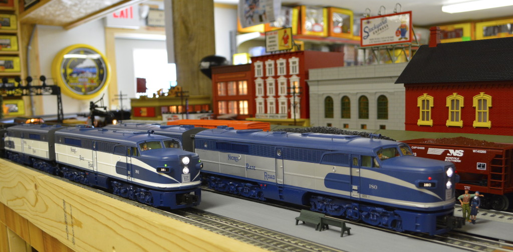 Nickel Plate Bluebirds