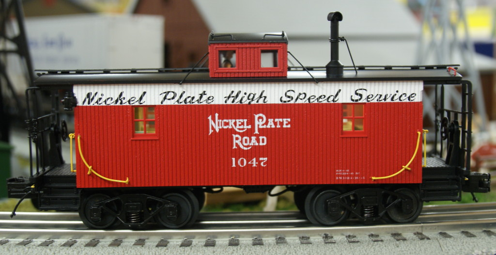 20-91554 Nickel Plate Road N6b Caboose 1047 Bellevue, Ohio