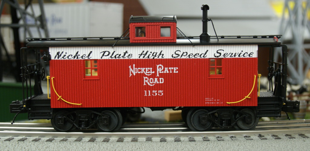 20-91555 Nickel Plate Road N6b Caboose 1155 Vermilion, Ohio